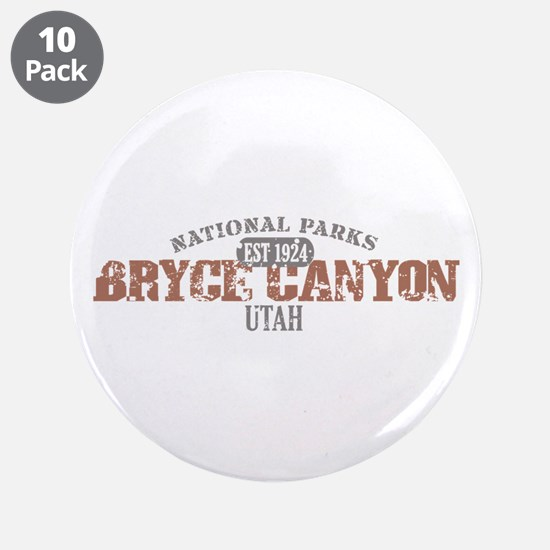 "Bryce Canyon National Park UT 3.5"" Button (10 pack"