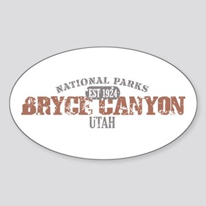Bryce Canyon National Park UT Sticker (Oval)