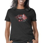 Derby Girl Red And Black Women's Classic T-Shirt