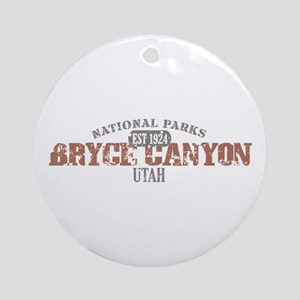 Bryce Canyon National Park UT Ornament (Round)