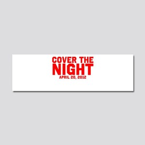 Cover the night Kony 2012 Car Magnet 10 x 3