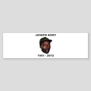 Kony 2012 Obituary Sticker (Bumper)