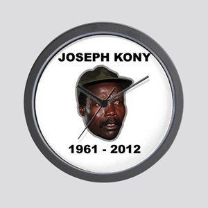Kony 2012 Obituary Wall Clock