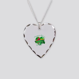 I heart Dominican Designs Necklace Heart Charm