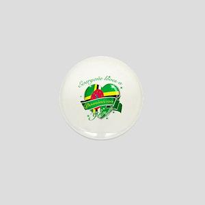 I heart Dominican Designs Mini Button
