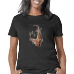 Abstract Saxophone player Women's Classic T-Shirt