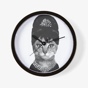 DIVA CAT Wall Clock