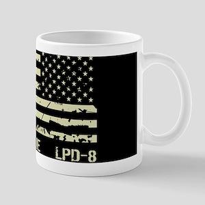 USS Dubuque 11 oz Ceramic Mug