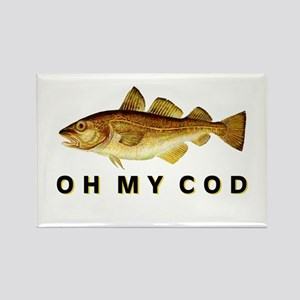 OH MY COD Rectangle Magnet