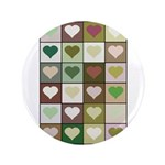 Army colors hearts pattern 3.5