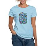 Arty Blue Mosaic Women's Light T-Shirt