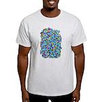Arty Blue Mosaic Light T-Shirt