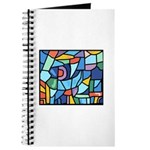 Stained Glass Pattern Journal