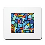 Stained Glass Pattern Mousepad