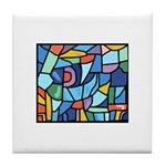 Stained Glass Pattern Tile Coaster