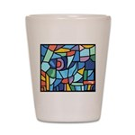 Stained Glass Pattern Shot Glass