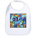 Stained Glass Pattern Bib