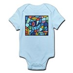 Stained Glass Pattern Infant Bodysuit