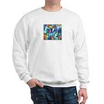 Stained Glass Pattern Sweatshirt