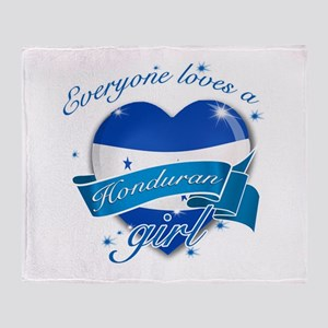 I heart Honduran Designs Throw Blanket