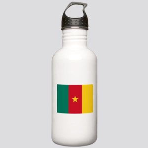 Cameroon Flag Stainless Water Bottle 1.0L