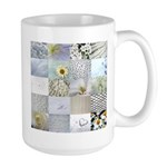 White Photography Collage Large Mug