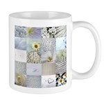 White Photography Collage Mug