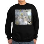 White Photography Collage Sweatshirt (dark)