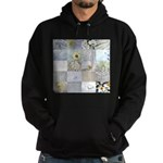 White Photography Collage Hoodie (dark)