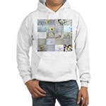 White Photography Collage Hooded Sweatshirt