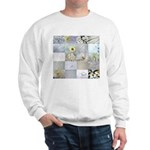 White Photography Collage Sweatshirt