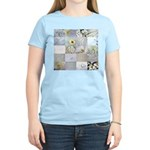 White Photography Collage Women's Light T-Shirt