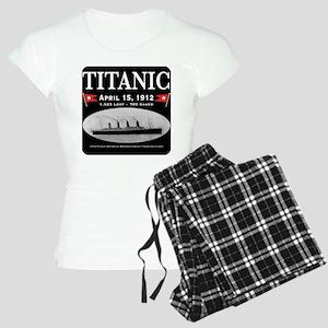 Titanic Ghost Ship (black) Women's Light Pajamas