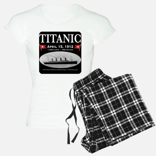 Titanic Ghost Ship (black) Pajamas