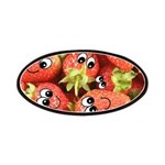 Cute Happy Strawberries Patches