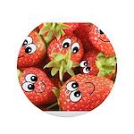 Cute Happy Strawberries 3.5