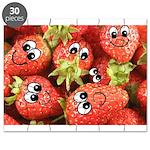 Cute Happy Strawberries Puzzle