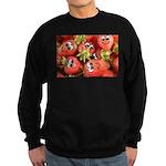 Cute Happy Strawberries Sweatshirt (dark)