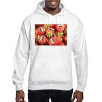 Cute Happy Strawberries Hooded Sweatshirt