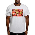 Cute Happy Strawberries Light T-Shirt