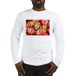 Cute Happy Strawberries Long Sleeve T-Shirt