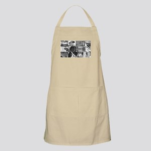 Stylish Guitar Photo Collage Apron
