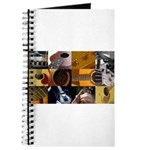 Guitar Photography Collage Journal