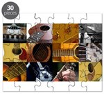 Guitar Photography Collage Puzzle