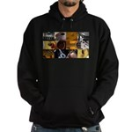 Guitar Photography Collage Hoodie (dark)