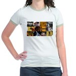 Guitar Photography Collage Jr. Ringer T-Shirt