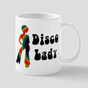 Disco Lady Retro Mug