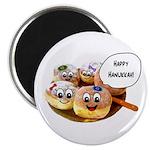 Happy Hanukkah Donuts Magnet