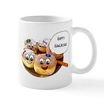 Happy Hanukkah Donuts Mug