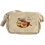Happy Hanukkah Donuts Messenger Bag
